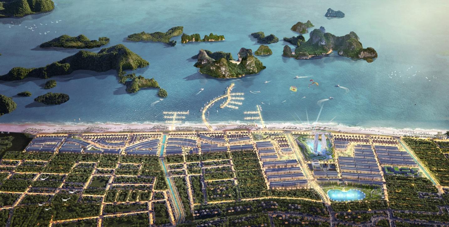 Dự án Green Dragon City được ví như viên kim cương giữa vịnh ngọc.